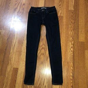 Levi's 535 Super Skinny Jeans Size 25
